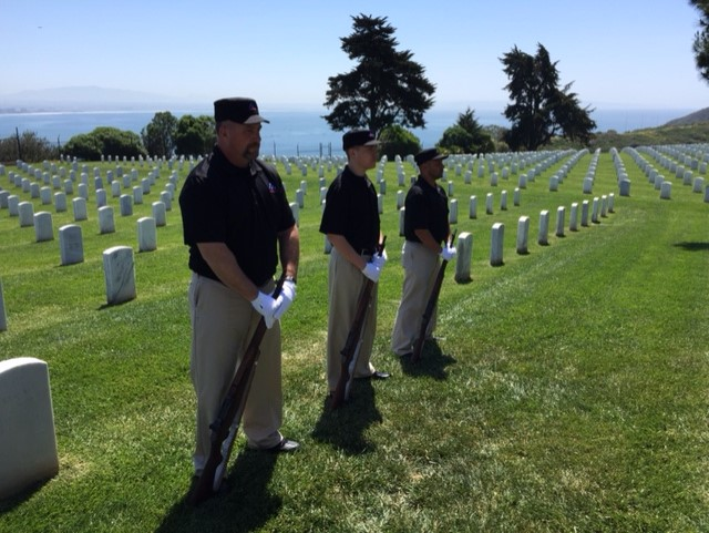 JHG at Fort Rosecrans National Cemetery