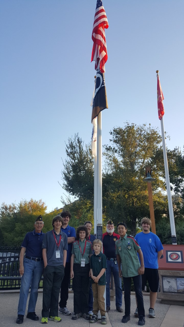 'See You at the Pole' (SYATP) has been about one simple act - prayer - students uniting themselves in prayer before God interceding for their generation. The VFW and American Legion joined Trail Life Troop CA-37:23 around the flag pole in prayer at Poway''s Veteran Park